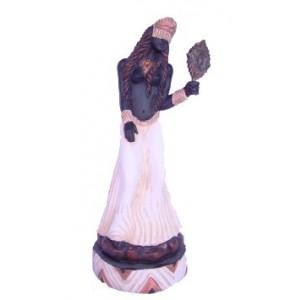 Imagem Oxum Marfim em Resina 28cm