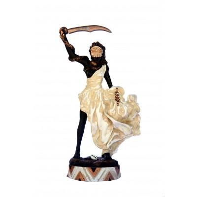 Imagem Euá Marfim em Resina 28cm